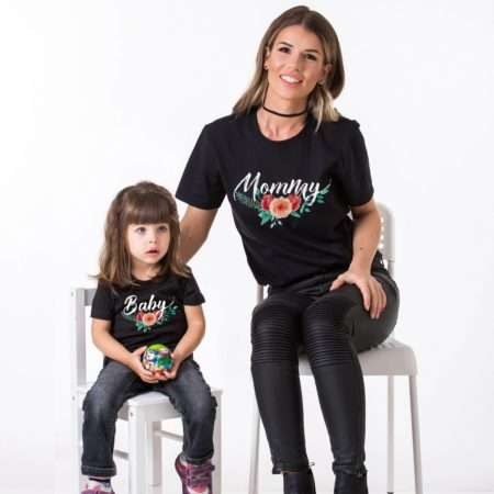 Mommy Baby Matching Shirts, Matching Mommy and Me Shirts