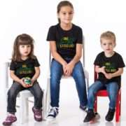 St. Patrick's Day Kids Shirts, One Lucky Little Dude Little Lady