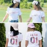 Big Sis Lil Sis Sister Shirts, Matching Best Friends Shirts, Gift for Sister