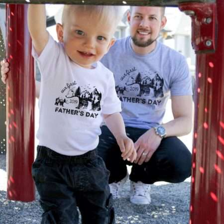 Our First Father's Day Shirts, Bears, Father's Day Gift, Daddy and Me Shirts