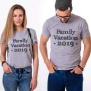 Custom Family Vacation Shirts, Custom Name and Year, Matching Family Shirts
