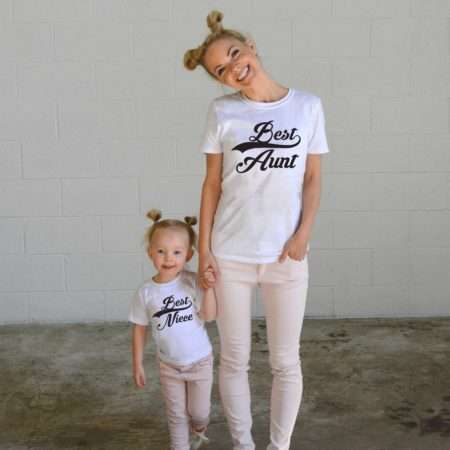 Best Aunt, Best Nephew, Best Niece, Matching Family Shirts, Aunt Shirt