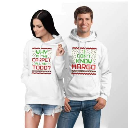 Margo Todd Funny Hoodies, Why is the Carpet All Wet, Couples Hoodies