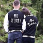 Personalized Wedding Jackets, Mr Mrs Custom Matching Varsity Jackets