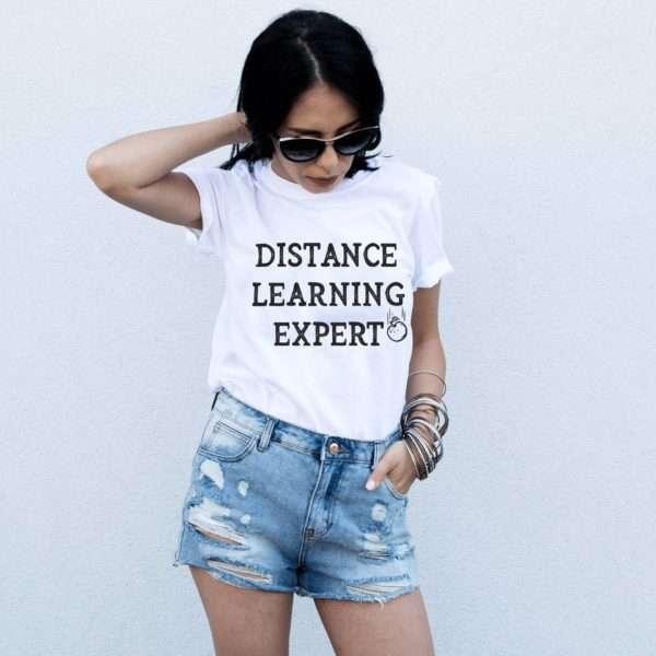 Distance Learning Expert Shirt, Self-Distancing Shirt, Quarantine Shirt