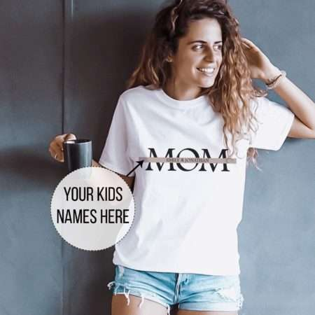 Mom Dad Custom Shirts, Matching Couples Shirts, Gift for Parents