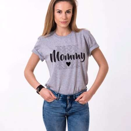 Mother's Day Gift, Mommy Custom Kids Names Shirt, Personalized Shirt