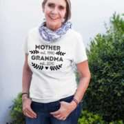 Pregnancy Reveal Grandma Shirt, Mother Est Grandma Est Shirt, Mother's Day Gift