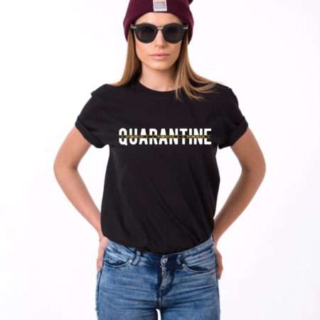 Quarantine Stay Home Save a Life Shirt, Quarantine Shirt, Social Distance