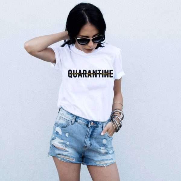 Quarantine Stay Home Save a Life Shirt, Quarantine Shirt, Social Distance