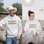 Personalized Couples Hoodie, She's Mine, He's Mine, Matching Hoodies