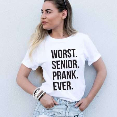 Worst Senior Prank Ever Shirt, Senior Shirt, Graduation Quarantine Shirt