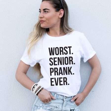 Worst Senior Prank Ever Shirt, Senior Shirt, Graduation Quarantine Shirt