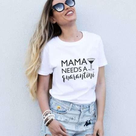 Mama Needs A Quarantini Shirt, Quranatine Shirt, Self-Isolation Shirt