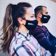 Mr Mrs Face Mask with filter pocket, Wedding Masks